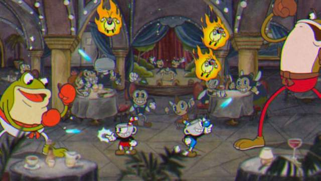 cuphead-frogs-battle